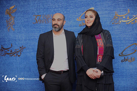 محسن تنابنده و همسرش در فوتوکال «قسم» +عکس