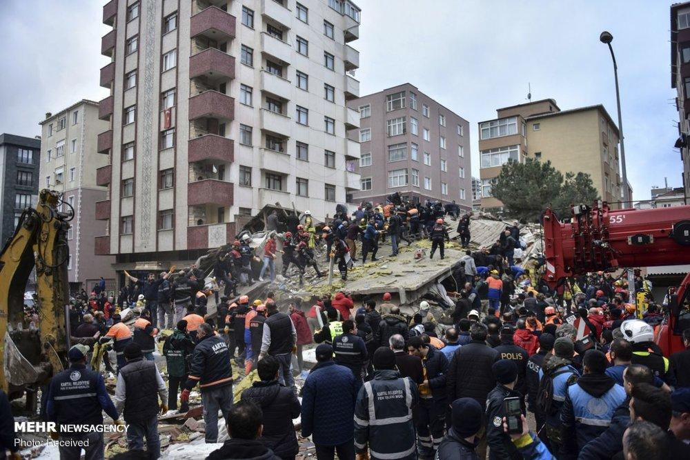 فروریختن وحشتناک ساختمان ۸ طبقه + عکس
