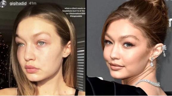 زیباترین زنان هالیوود در چالش بدون آرایش