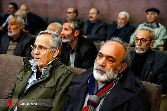چهرهها در مراسم ترحیم همسر علی نصیریان +عکس