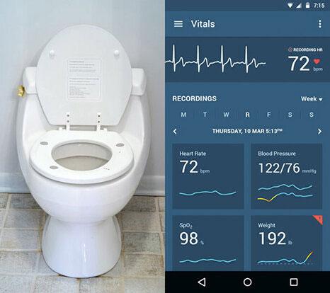 سلامت قلب خود را با این توالت فرنگی بسنجید+عکس