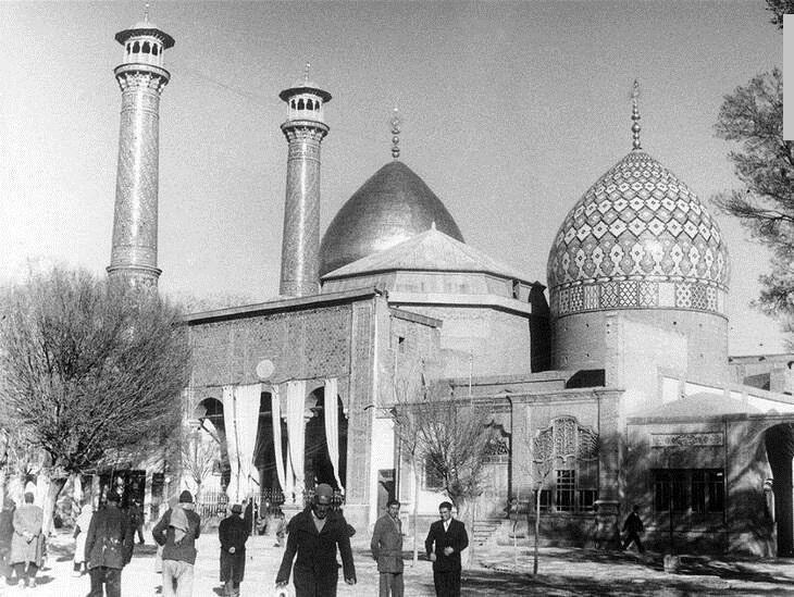 حرم شاهعبدالعظیم؛ ۷۵سال قبل +عکس