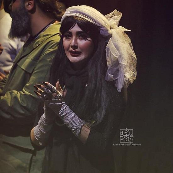 مریم معصومی در نقش اجنه عروس+عکس