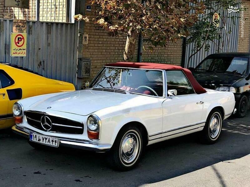 کمیابترین خودرو دنیا در خیابانهای تهران+عکس