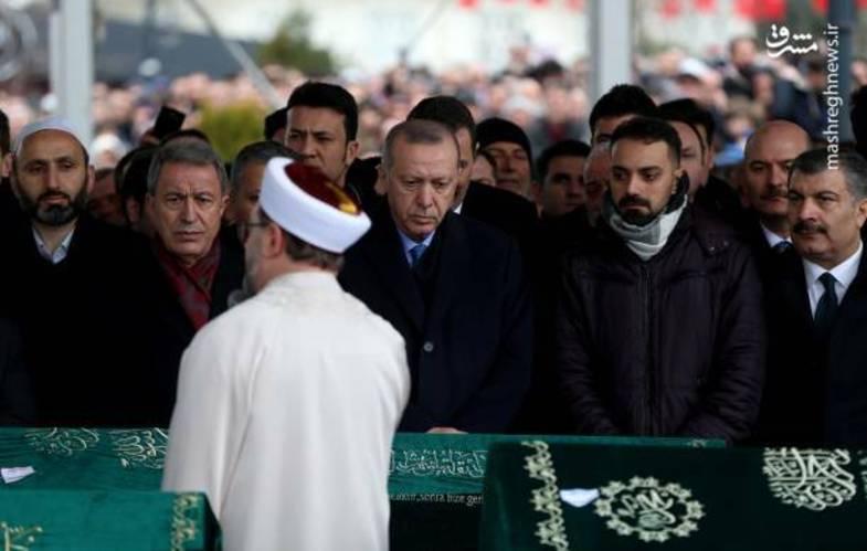 محافظ تک تیرانداز اردوغان +عکس