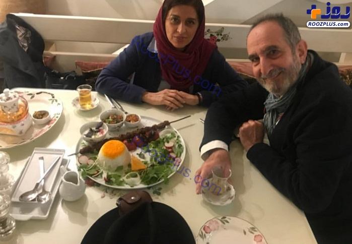 رستورانگردی زوج بازیگر ایرانی +عکس