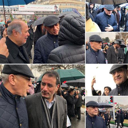 برادران سید محمد خاتمی در مراسم ۲۲ بهمن +عکس