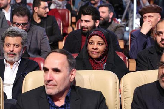مرضیه هاشمی در اختتامیه جشنواره فیلم فجر +عکس