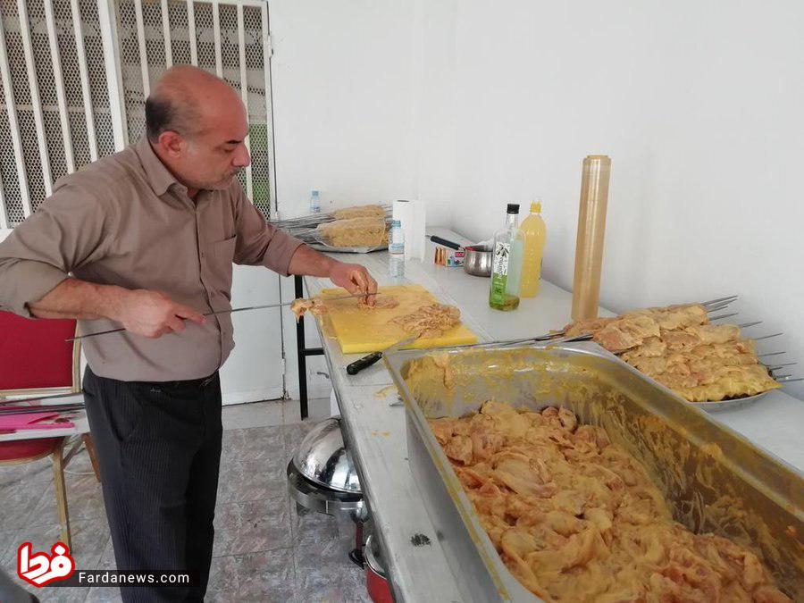 عکس عجیب سفارت ایران در موریتانی برای ۲۲ بهمن
