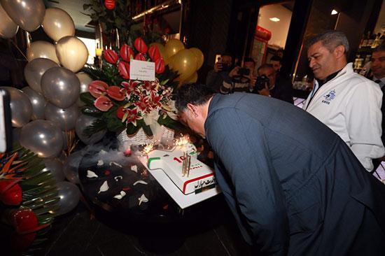 جشن تولد علی دایی با حضور اصحاب رسانه +عکس