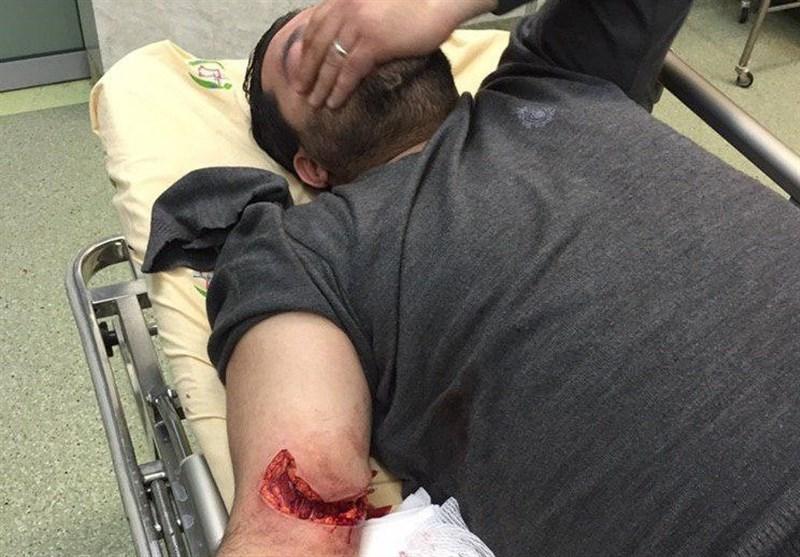 مجروح شدن دو تن از بسیجیان در درگیری با سارقین (16+) + عکس
