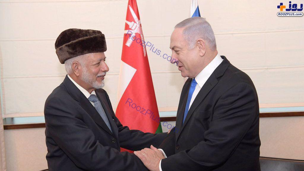 دیدار نتانیاهو و وزیر خارجه عمان در حاشیه نشست ورشو+عکس