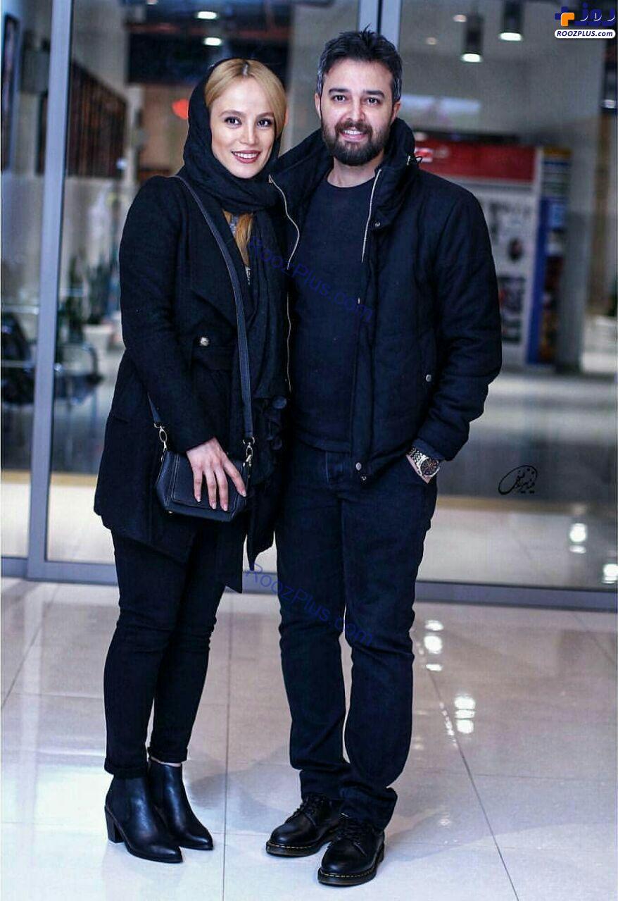 محمودرضا قدیریان و همسرش+عکس