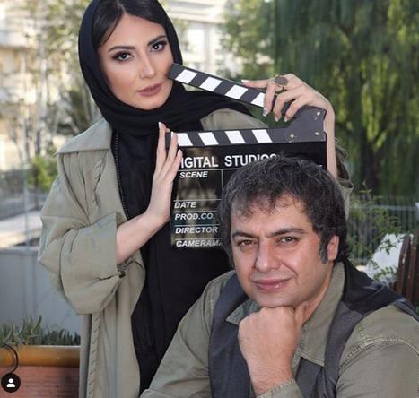 آقای کارگردان در کنار همسر بازیگرش+عکس