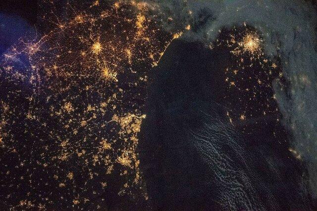 تماشای شهرهای شمالی اروپا از فضا +عکس