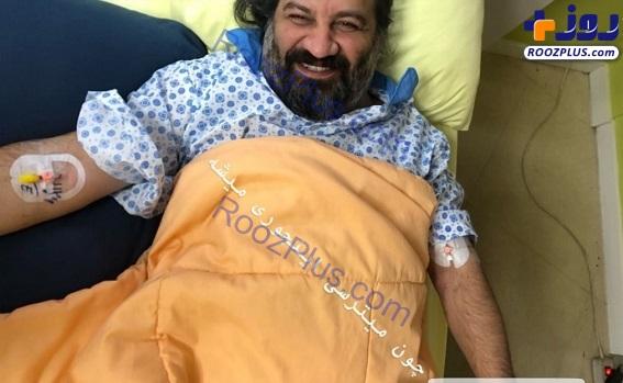«مهراب قاسمخانی» راهی بیمارستان شد+عکس