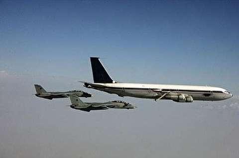 اسکورت هواپیمای ولیعهد عربستان توسط جنگندههای پاکستانی