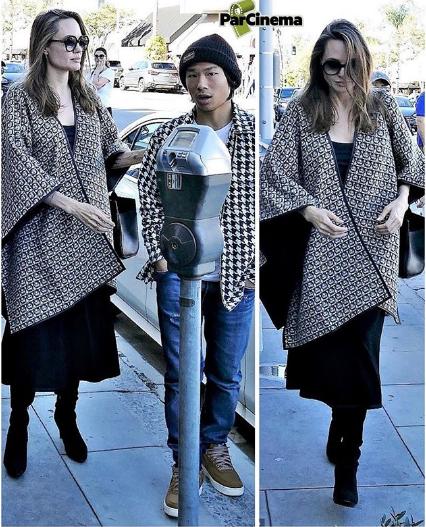 «آنجلینا جولی» در کنار پسر ویتنامی اش +عکس