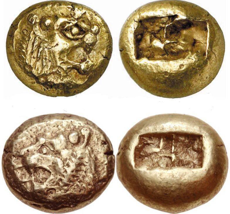 اولین سکه تاریخ +عکس