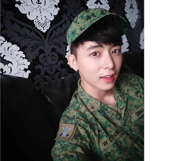 مرگ هنرپیشه مشهور سنگاپوری حین خدمت سربازی +عکس