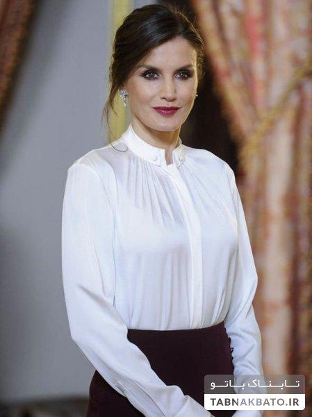 طراحی جدید لباسهای ملکه اسپانیا