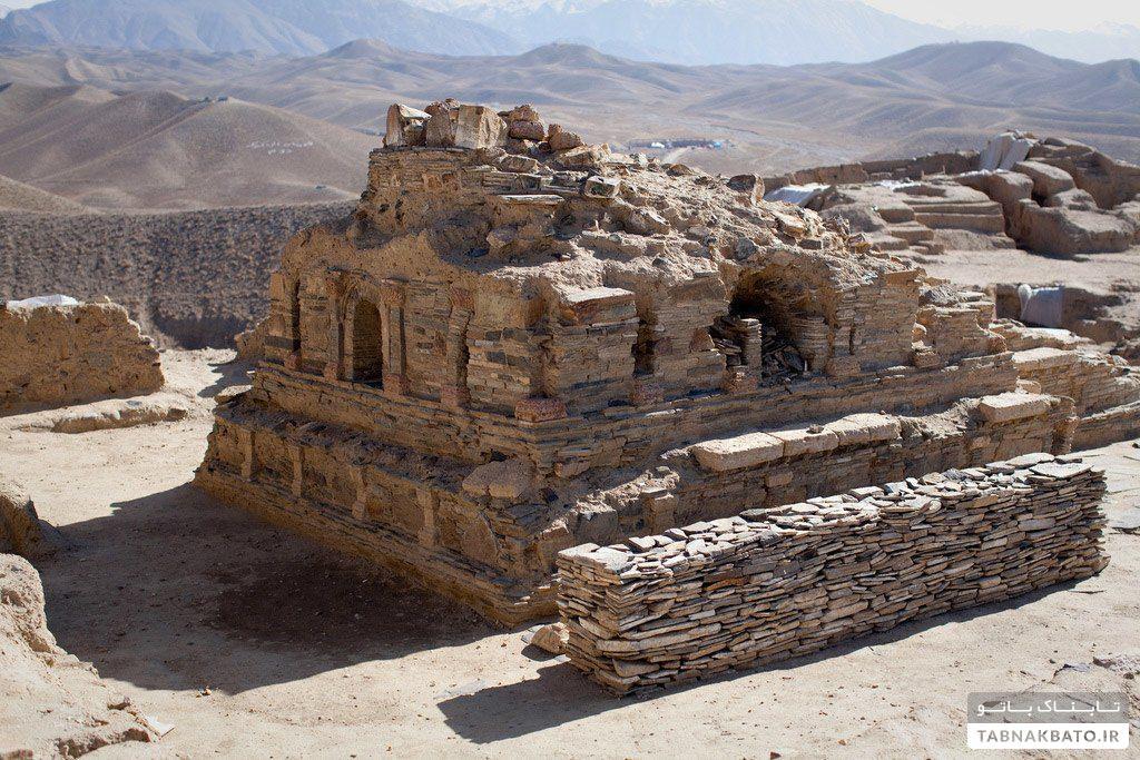 آثار بودایی به جای مانده در افغانستان