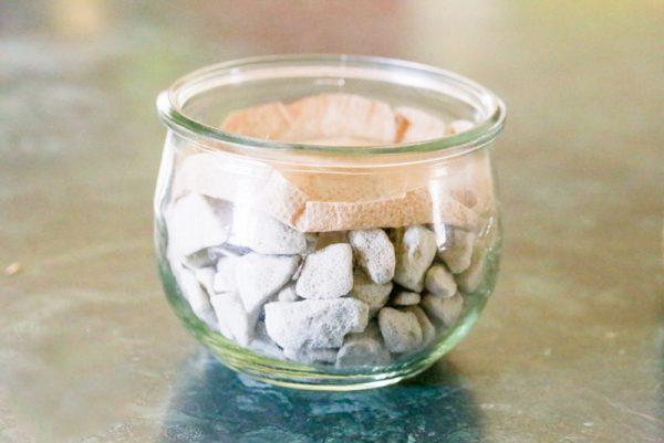 روش درست کردن سبزه عید در تنگ شیشه ای