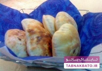 طرز تهیهی نان هندی با پنیر چدار
