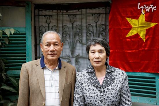 زوجی که به علت مشکلات سیاسی سه دهه از ازدواج منع شده بودند+عکس