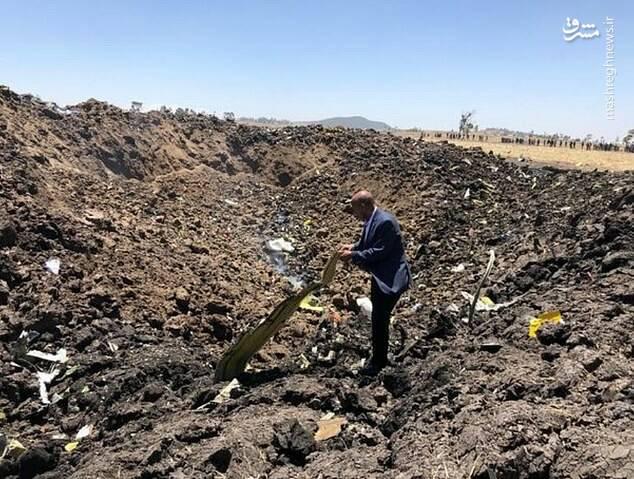 جزییات سقوط هواپیمای مسافربری اتیوپی+عکس