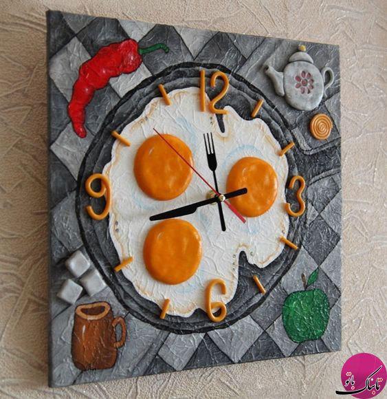 ساعتهای دیواریهای جالب مناسب برای آشپزخانه