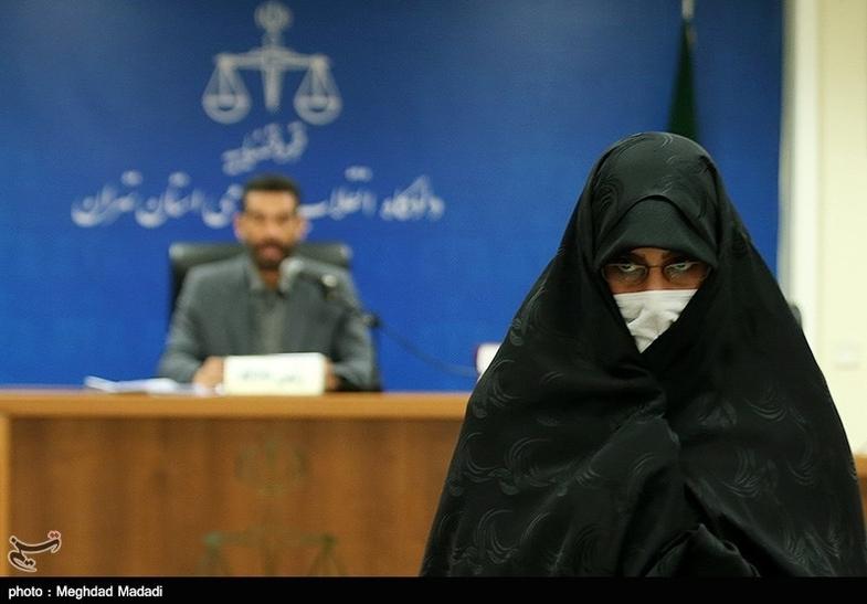 متهمان زن پرونده گروه هدایتی در دادگاه +عکس