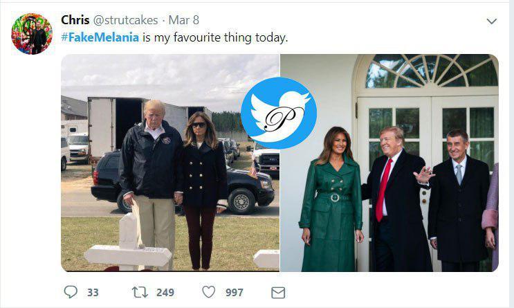 آیا ملانیا ترامپ بَدَل دارد؟+عکس