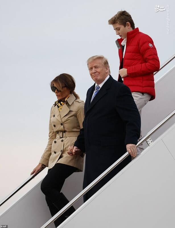 رئیس جمهور جنجالی با خانواده به تعطیلات رفت+عکس