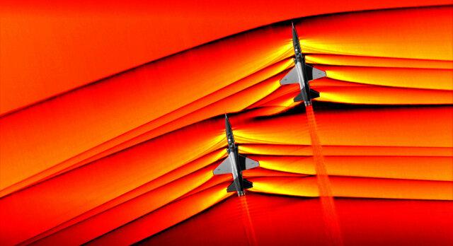 عکس خیرهکننده ناسا از شکست دیوار صوتی