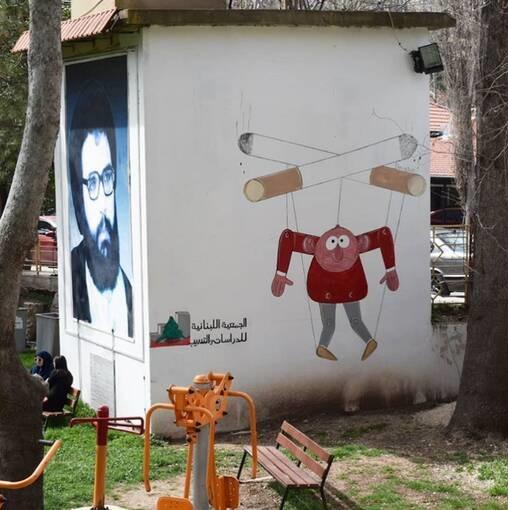 بدل جناب خان در لبنان +عکس