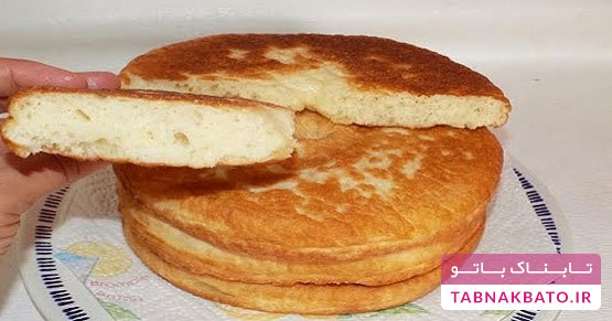 طرز تهیهی یک نوع نان تابهای