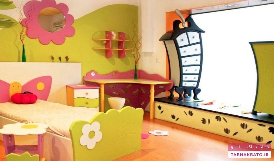 چگونه فضای اتاق کودک را شاد کنیم؟