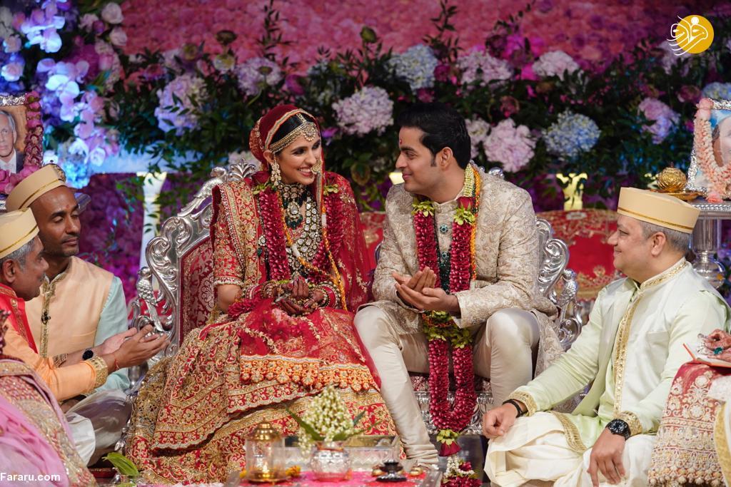 جشن عروسی فرزند ثروتمندترین مرد آسیا +عکس