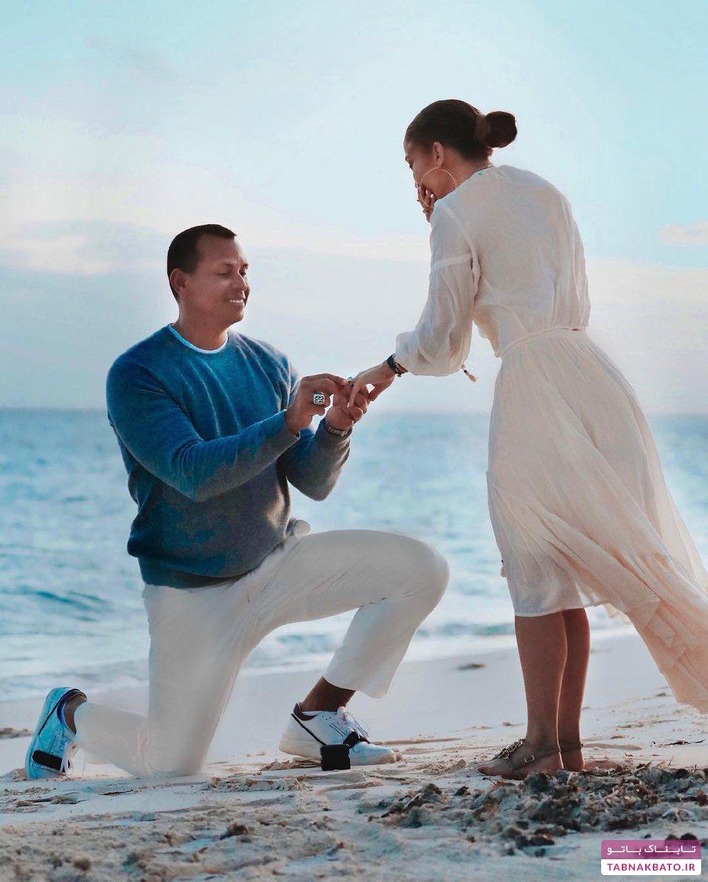 طرفدار جنیفر لوپز، که نامزد او شد!
