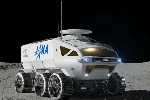 خودرو تویوتا برای سفر توریستی به ماه! +عکس