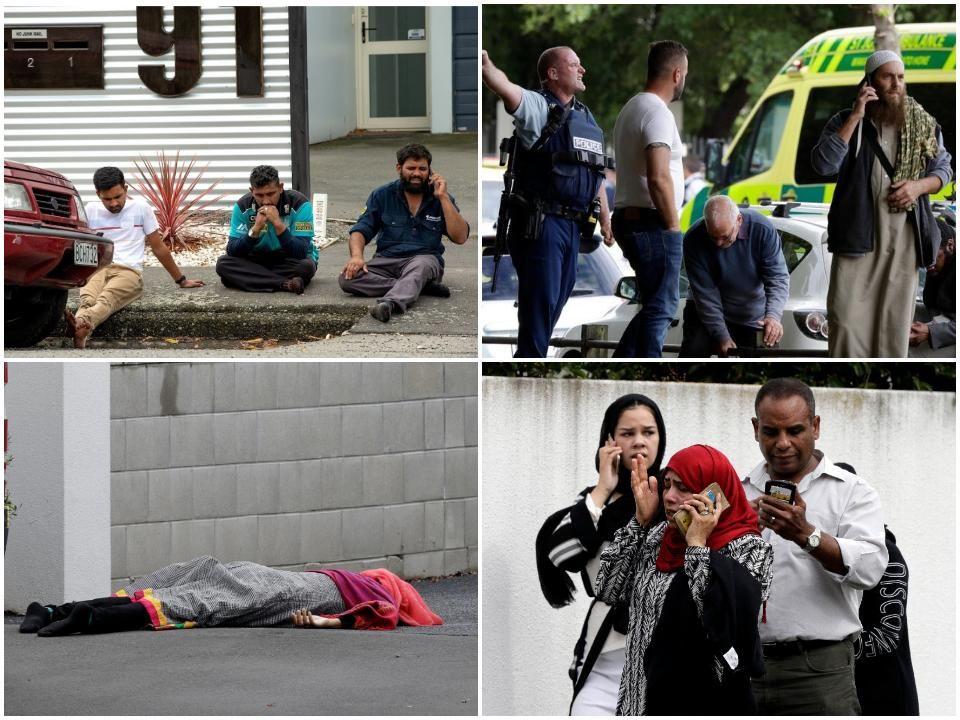نماز جمعه خونین نیوزلند + عکس