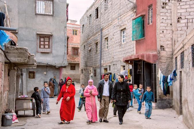 ابتکار زنان مراکشی برای مبارزه با آزار خیابانی