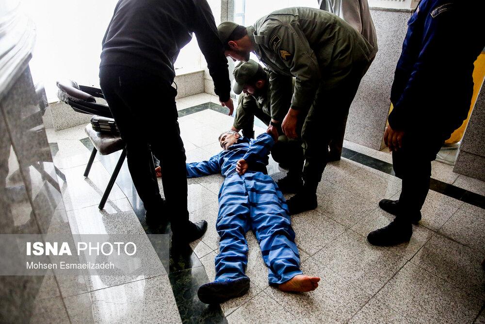 غَشکردن مفسد اقتصادی در دادگاه +عکس