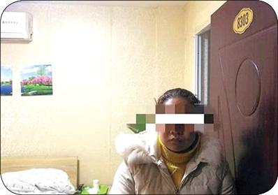 ترفند عجیب زن جوان برای فرار از دست نامزدش +عکس