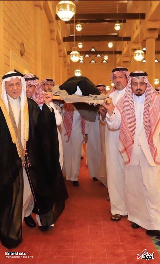 تشییع پیکر شاهزاده خانم عربستانی + عکس