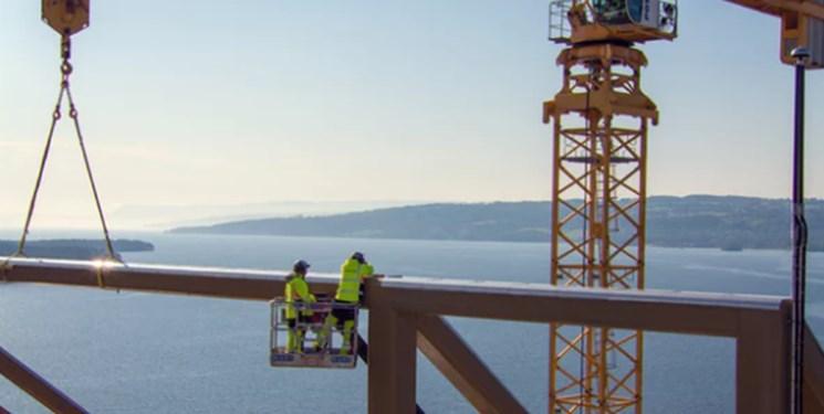 افتتاح بلندترین برج چوبی جهان در نروژ +عکس
