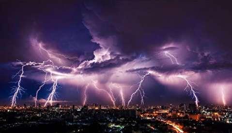 خودنمایی رعد و برق در اقصی نقاط دنیا