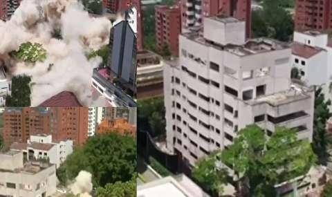 تخریب دژ قاچاقچی بزرگ کلمبیا
