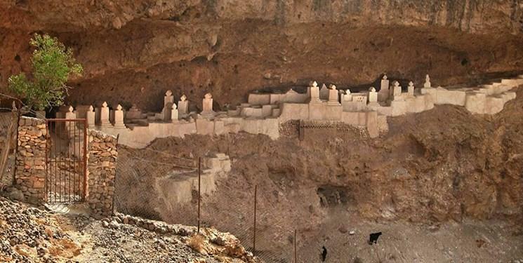 قبرستانی اعجابانگیز در دل کوه +عکس